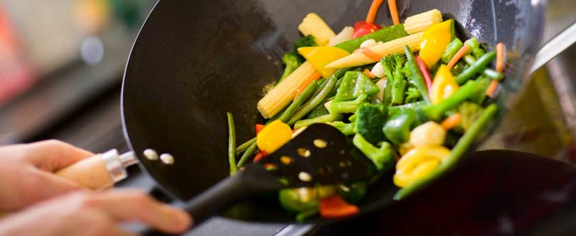 healthiest methods of cooking vegetables